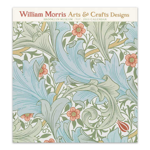 William Morris: Arts and Crafts Designs 2018 Wall Calendar