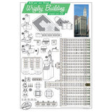 Build Your Own Wrigley Building Postcard