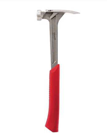 17oz Milled Face Framing Hammer With Shockshield Grip - 48229016
