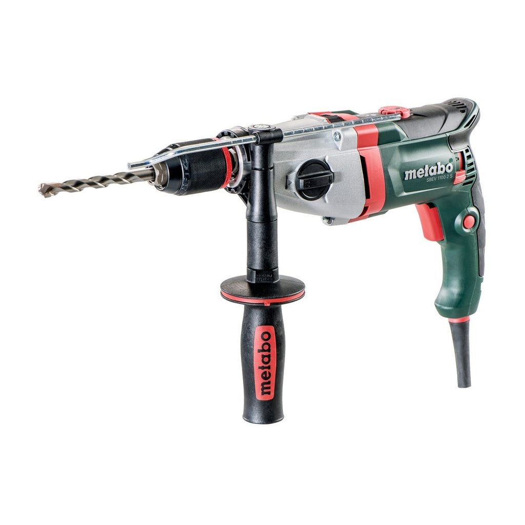 Metabo 1100W Electronic 2-Speed Impact Drill SBEV 1100-2 S 600784500
