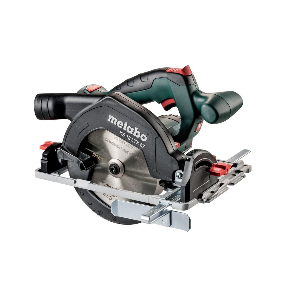 Metabo 18V 165mm Circular Saw KS 18 LTX 57 (tool only) 601857850