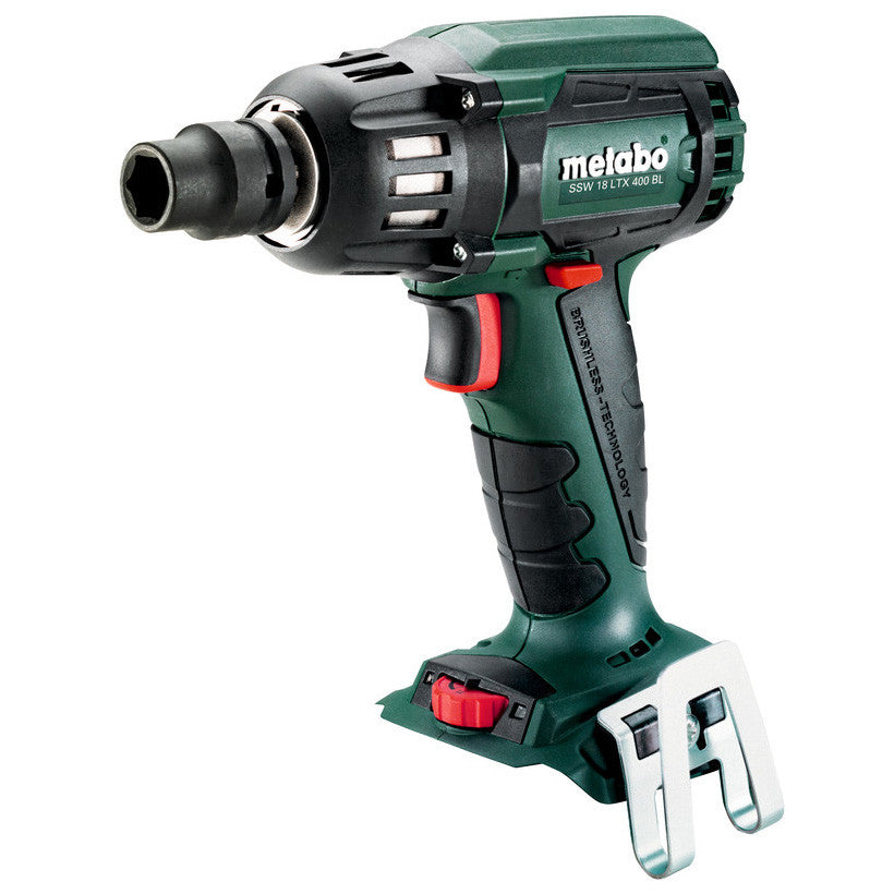 "Metabo 18V 1/2"" Brushless Impact Wrench SSW 18 LTX 400 BL (tool only) 602205890"