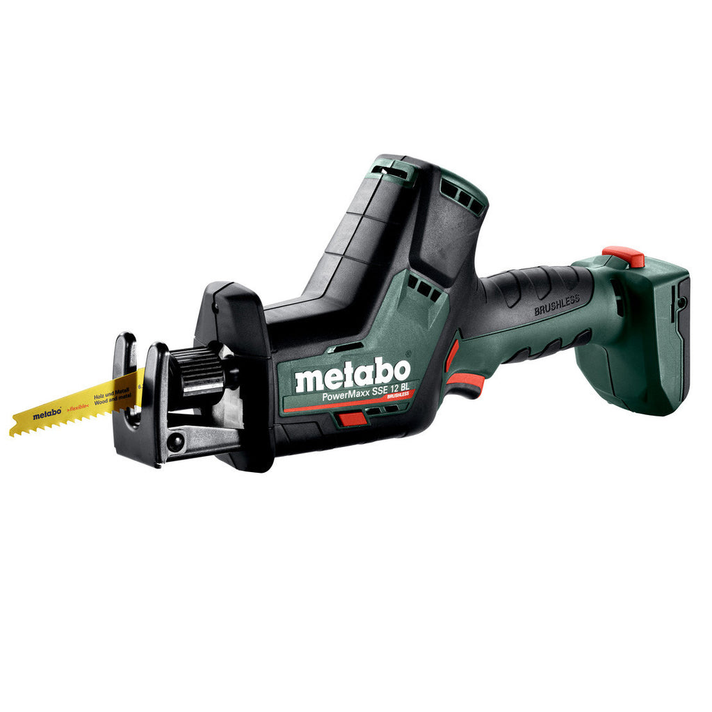Metabo 12V Reciprocating/Sabre Saw PowerMaxx SSE 12 BL (tool only) 602322890