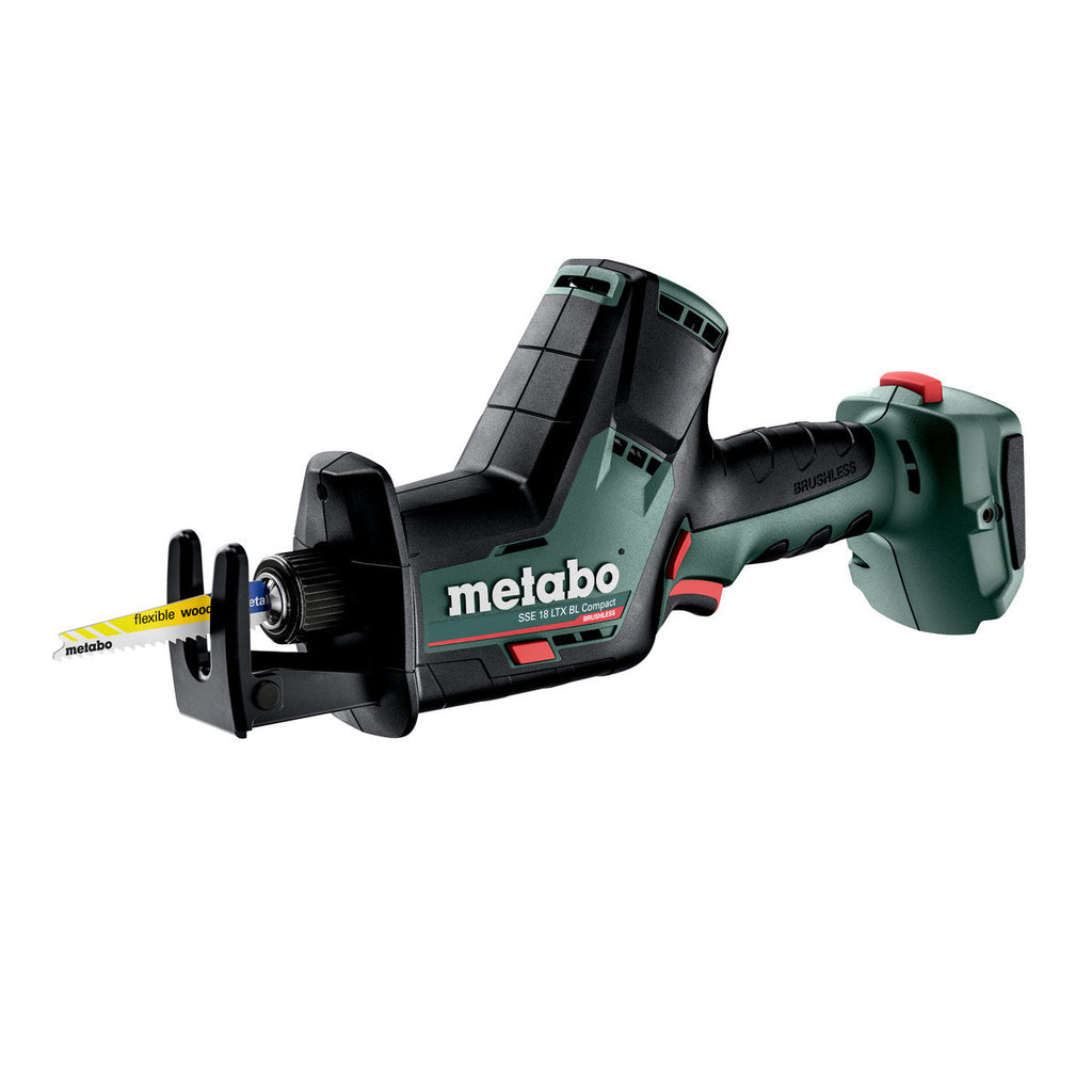 Metabo 18V Compact Reciprocating/Sabre Saw SSE 18 LTX BL (tool only) 602366850