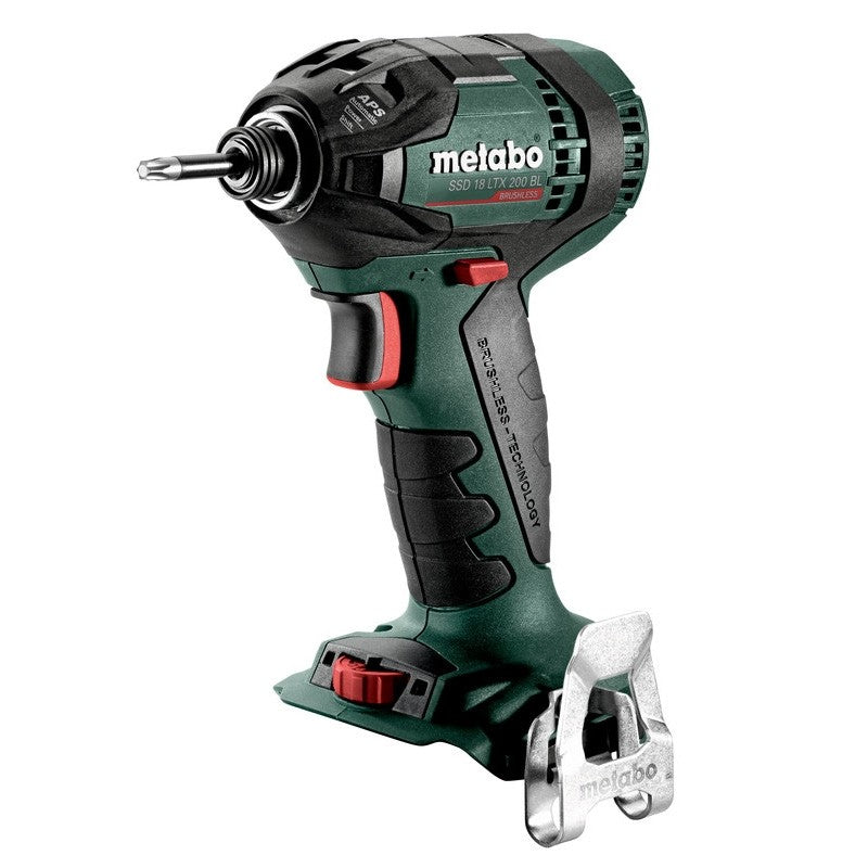 Metabo 18V Brushless Impact Driver SSD 18 LTX 200 BL (tool only) 602396890