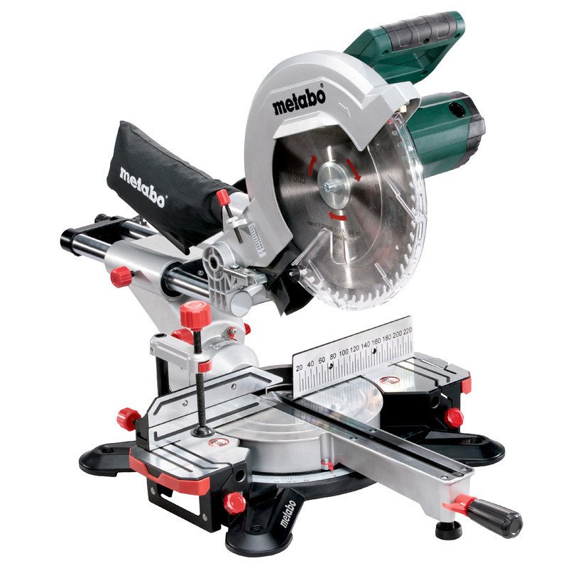 Metabo 2000W 305mm Sliding Mitre Saw KGS 305 M 619305190