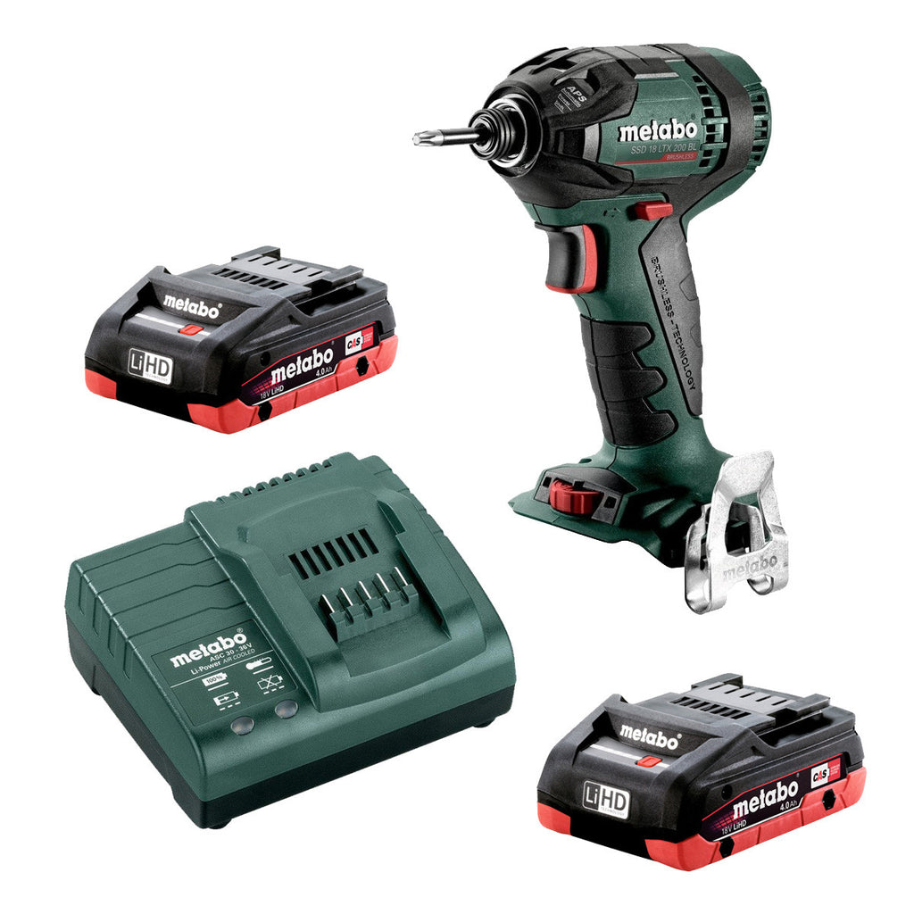 Metabo 18V Rotary Hammer Drill 3 Mode Quick 4.0Ah LiHD Kit KHA 24 Q AU60021140