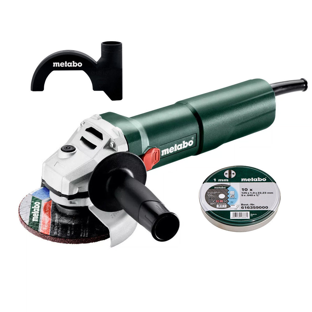 Metabo 1100W 125mm Angle Grinder with Discs & Guard W 1100-125 CGD AU60361400