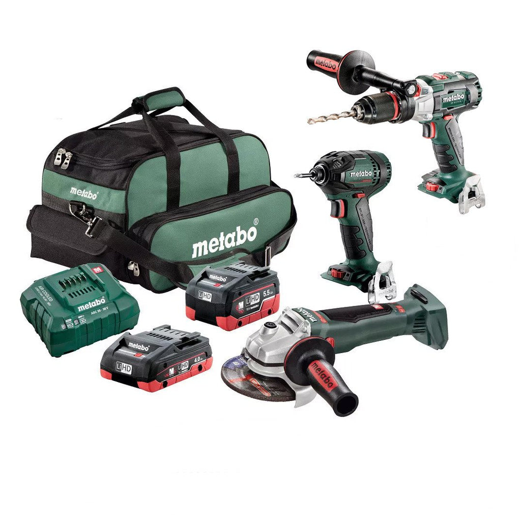 Metabo 18V 3 Piece Brushless LiHD Combo AU68300455