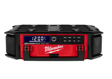 Milwaukee PACKOUT 18V Li-Ion Cordless Worksite Radio & Charger - M18PORC-0 (Tool Only)