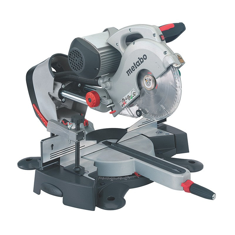 Metabo 200W 254mm Sliding Crosscut Mitre Saw KGS 254 I Induction 0102540200