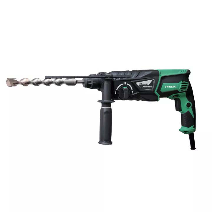 HiKOKI 830W 26mm 3.2 Joules 3 Mode SDS-Plus Rotary Hammer DH26PC(H1Z)