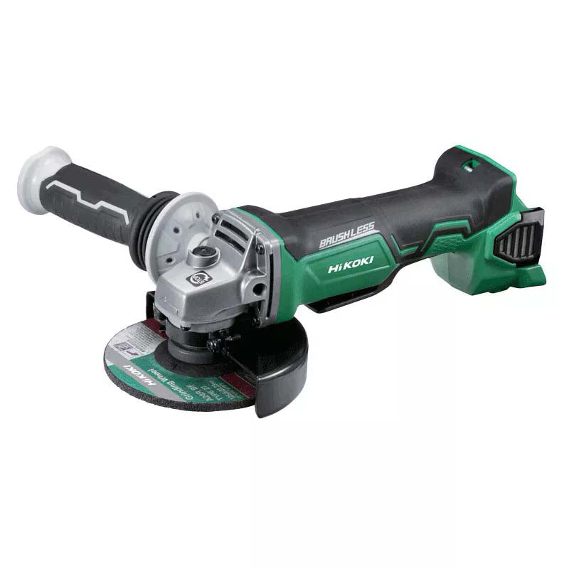 HiKOKI 18V 125mm Angle Grinder with Paddle Switch & Brake (tool only) G18DBBAL(H5Z)