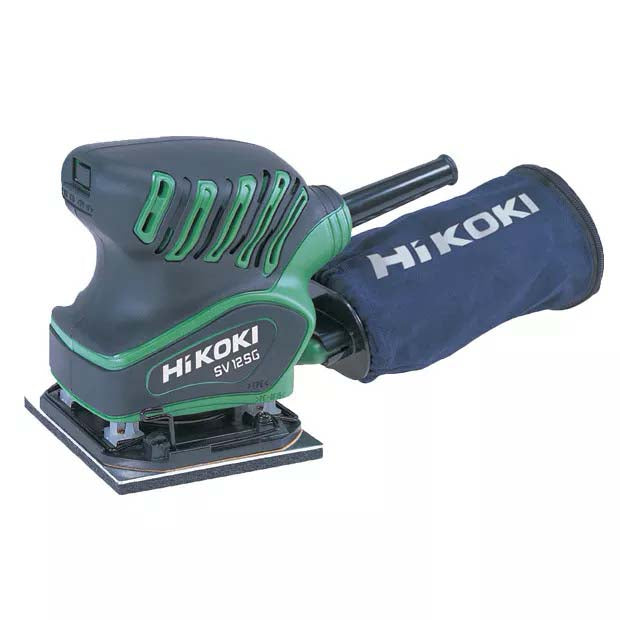 HiKOKI 200W Orbital Sander palm 1/4 sheet base SV12SG(H1Z)