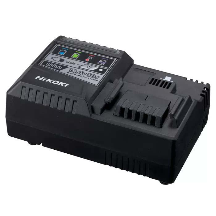 HiKOKI 14.4 - 18V Li-Ion Rapid Cooling Charger with USB Port UC18YSL3(H0Z)