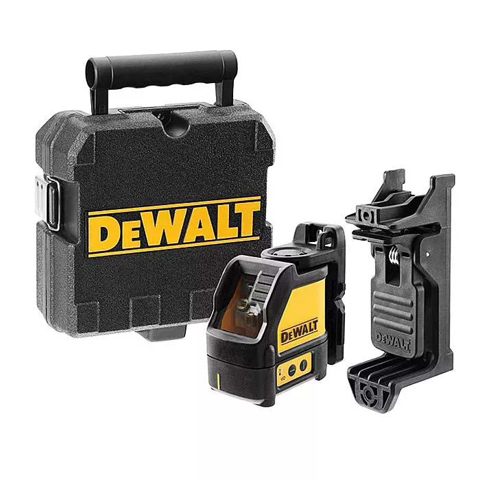 DeWalt 2 Way Self-Levelling Cross Line Laser (Green Beam) DW088CG-XJ