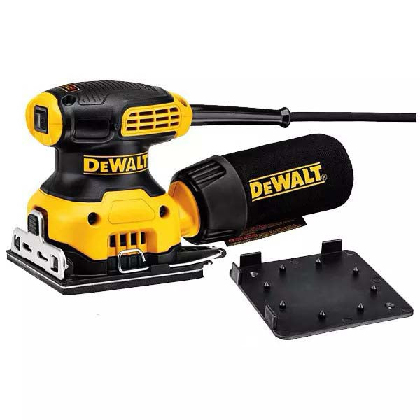 "DeWalt 230W 115mm (4-1/2"") Palm Sander DWE6411-XE"