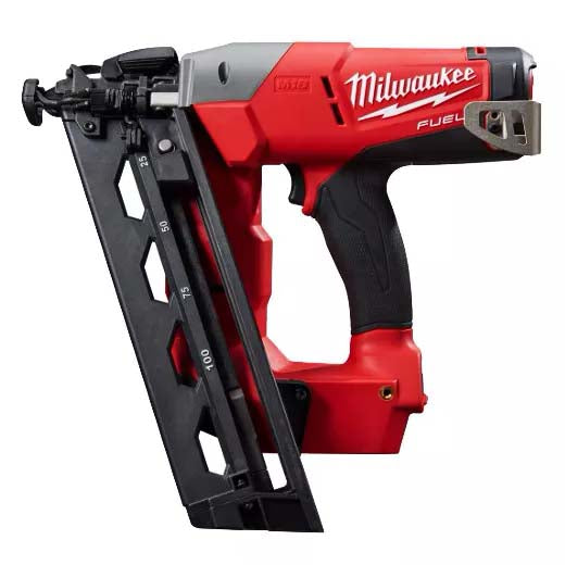 Milwaukee 18V Fuel 16ga Angled Finish Nailer (tool only) M18CN16GA-0C