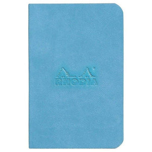 Set Of 2 Mini Notebooks Turquoise+Sapphire, LINED