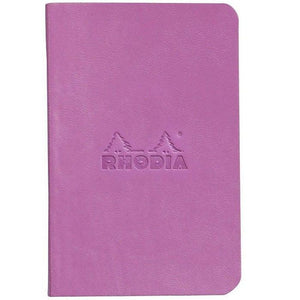 Set Of 2 Mini Notebooks Lilac+Raspberry, LINED