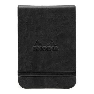 Webnotepad A7 Black, LINED