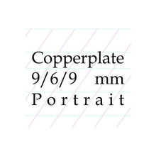 Load image into Gallery viewer, 9/6/9 Copperplate, Spencerian – A4 Paper Pad (Portrait)