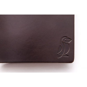 Traveler Notebook Brown Leather/Green Rubber