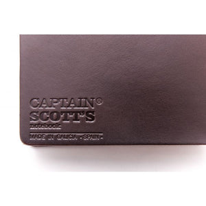 Passport Notebook Brown Leather/Green Rubber