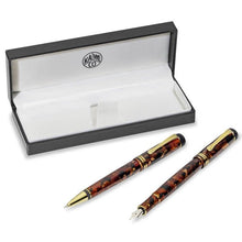 Load image into Gallery viewer, Kaweco DIA 2 Set Amber Limited Edition, B Tip
