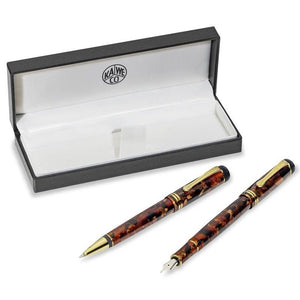 Kaweco DIA 2 Set Amber Limited Edition, B Tip