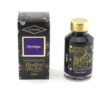 Load image into Gallery viewer, Diamine Mystique Shimmer Ink, 50ml