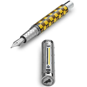 Montegrappa Harry Potter HUFFLEPUFF, F Tip  New!