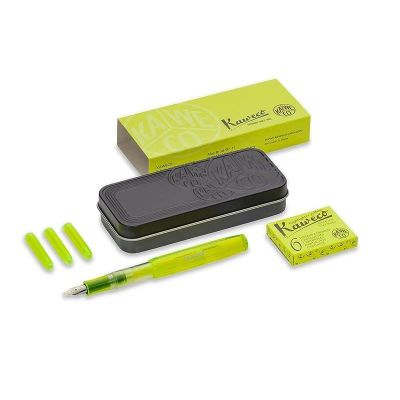 Kaweco ICE Sport Marker Yellow Set, 1.1 Tip