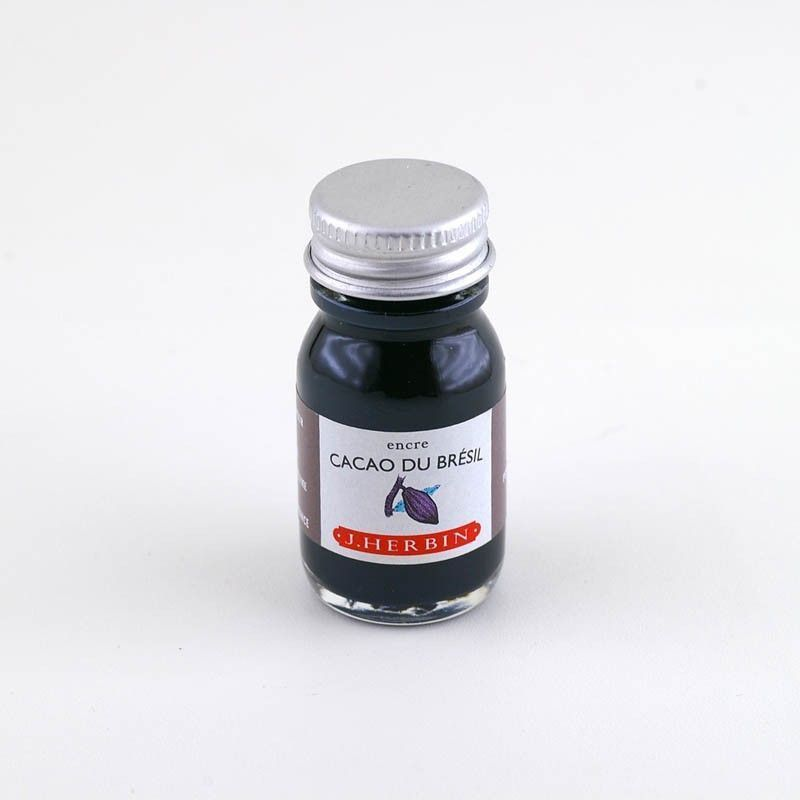 Herbin Ink Bottled 10ml Cacao Du Brésil