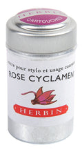 Load image into Gallery viewer, Herbin Ink 6 Cartridges Rose Cyclamen
