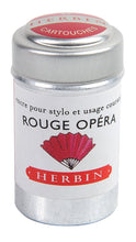 Load image into Gallery viewer, Herbin Ink 6 Cartridges Rouge Opéra