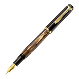 Pelikan Classic M200 Brown Marbled, EF Tip -Special Set Box-