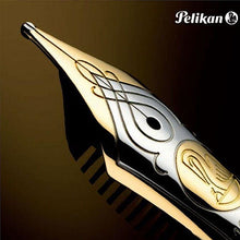 Load image into Gallery viewer, Pelikan Souverän M600 Black, EF Tip. Special Set Box