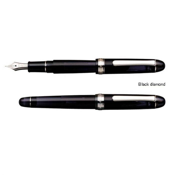 Platinum 3776 Century Black Diamond, Soft F Tip