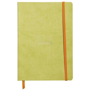 Rhodia A6 Notebook Anise Green, LINED