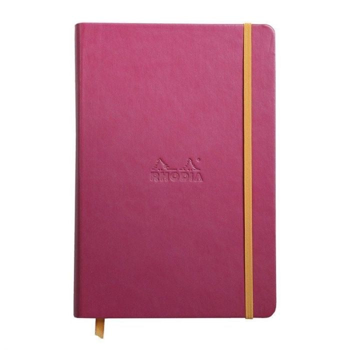 Rhodia A6 Notebook Raspberry, LINED