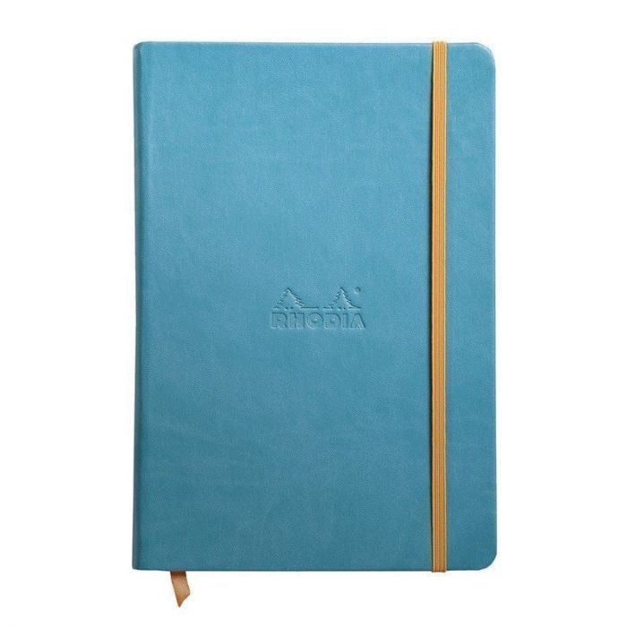 Rhodia A5 Notebook Turquoise Blue, LINED