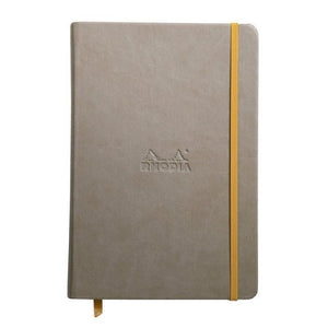 Rhodia A6 Notebook Taupe, LINED
