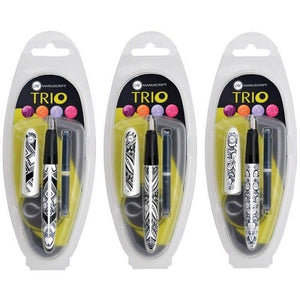 Manuscript TRIO Italic Fountain Pen, Design 3