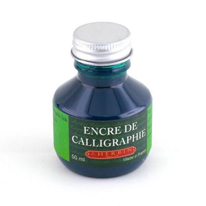 BOTTLE CALLIGRAPHIC INK Green, 50 ML