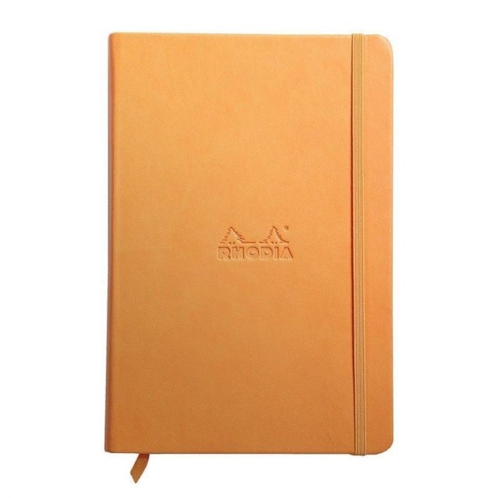 Rhodia A5 Notebook Orange, LINED