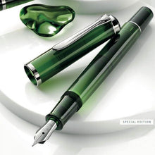 Load image into Gallery viewer, Pelikan Classic M205 Olivine Special Edition, EF Tip