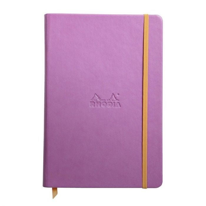 Rhodia A6 Notebook Lilac, LINED