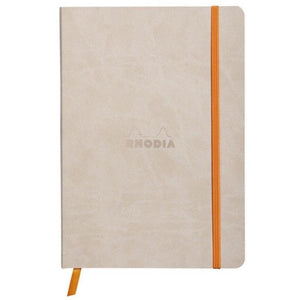 Rhodia A5 Notebook Beige, LINED