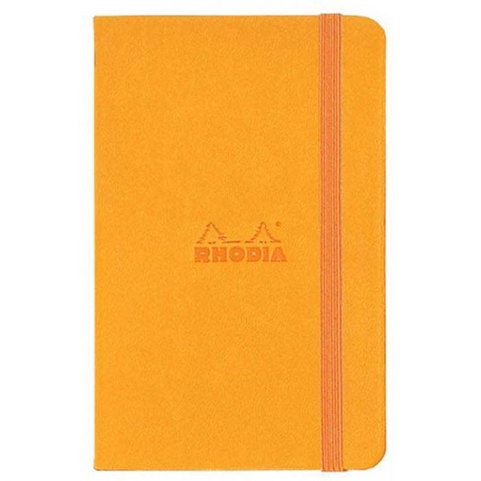 Webnotebook A5 Orange, LINED